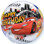 "22"" Cars Lightning McQueen & Mater Birthday Bubble Balloon"